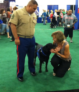 Greetings from a Freedom Dog and his Marine
