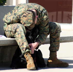 Freedom Dogs Marine with his Partner for Life