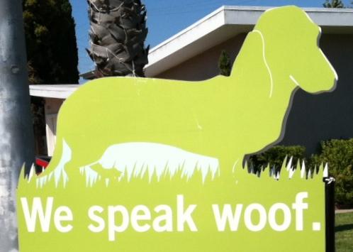 We speak Woof