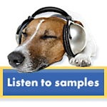 listening to calming canine music