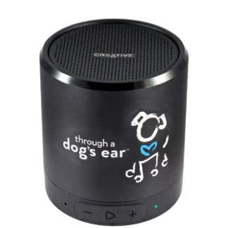 bluetooth speaker with micro SD port for dog calming music