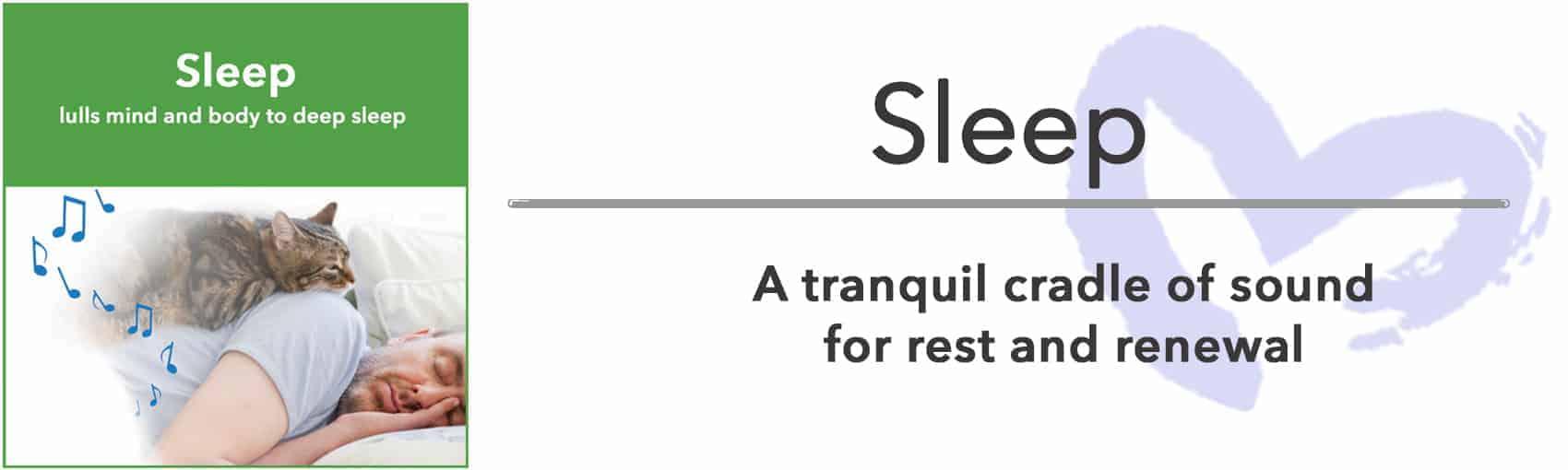 music to aid in sleep