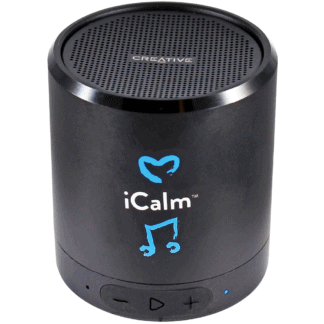 icalmpet icalm for people icalmcat canine portable bluetooth speaker feline calming music tunes