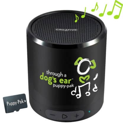 icalmdog puppy-pak music and sound therapy for puppies