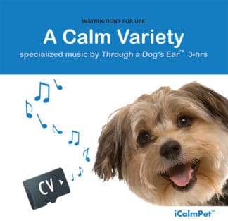 icalmpet icalmdog a calm variety of reggae and classical music anxiety noise phobia treatment for canines through a dog's ear
