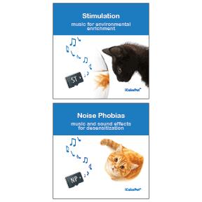 icalmpet icalmcat noise phobia stimulation feline calming music tunes