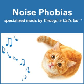 music to treat feline noise phobias