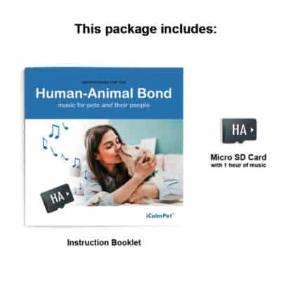 icalmpet icalmdog Human animal bond anxiety noise phobia treatment for canines through a dog's ear