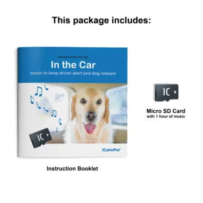 icalmpet icalmdog in the car anxiety noise phobia treatment for canines through a dog's ear