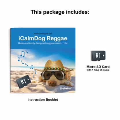 icalmpet icalmdog reggae bioaccoustically designed reggae music anxiety noise phobia treatment for canines through a dog's ear