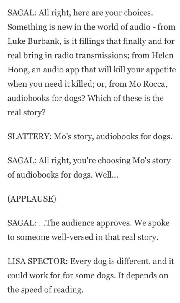 Audio Books for Dogs    Calming or Confusing? | iCalmPet