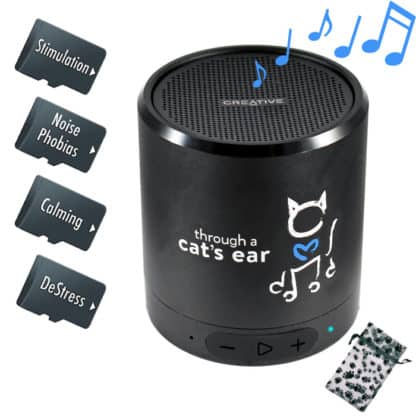 cat calming music in a deluxe package