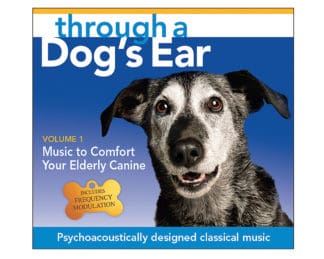 icalmdog elderly canine through a dog's ear volume 1 CD classical tunes for calm dogs
