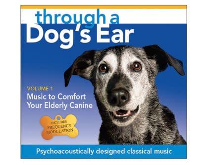 icalmdog elderly canine through a dog's ear volume 1 CD classical tunes for calm dogs